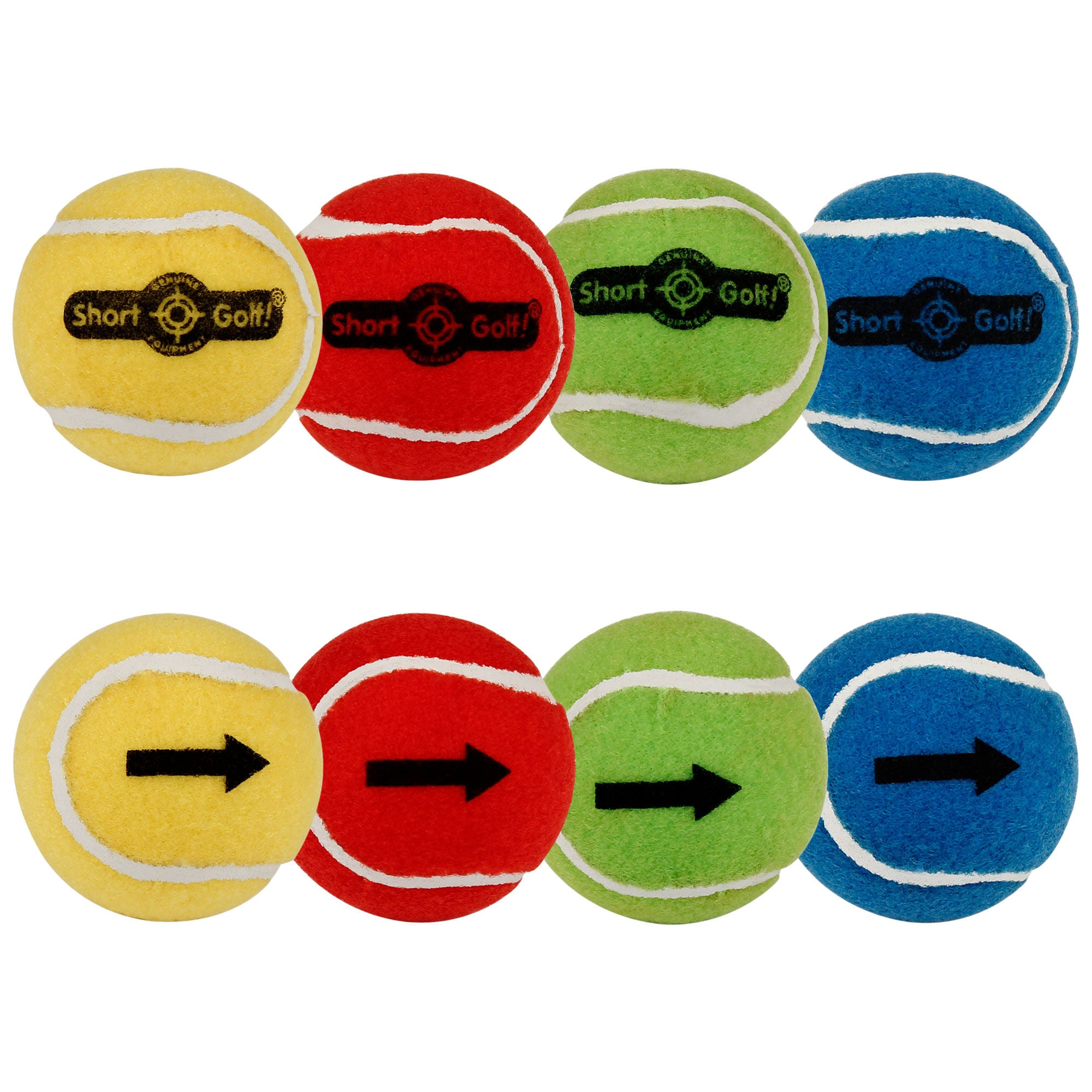 ShortGolf ballz! (pack of 8) - Event Stuff Ltd Owns Putterfingers.com!