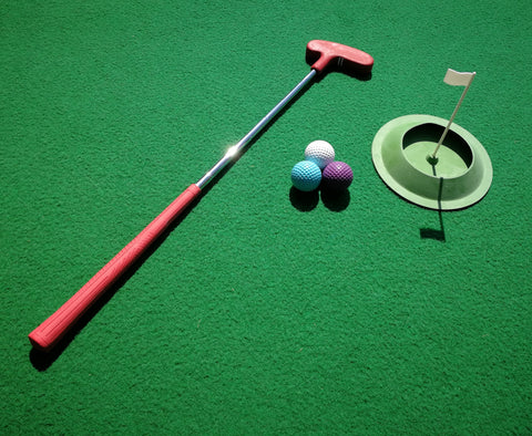 Junior Home Golf Putting Pack for 1 - Event Stuff Ltd Owns Putterfingers.com!