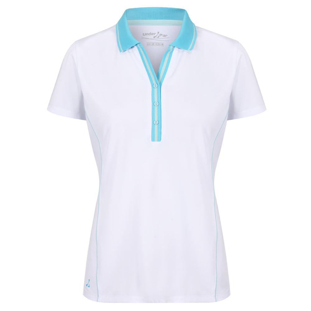 Ladies Deep Ribbed Polo Shirt