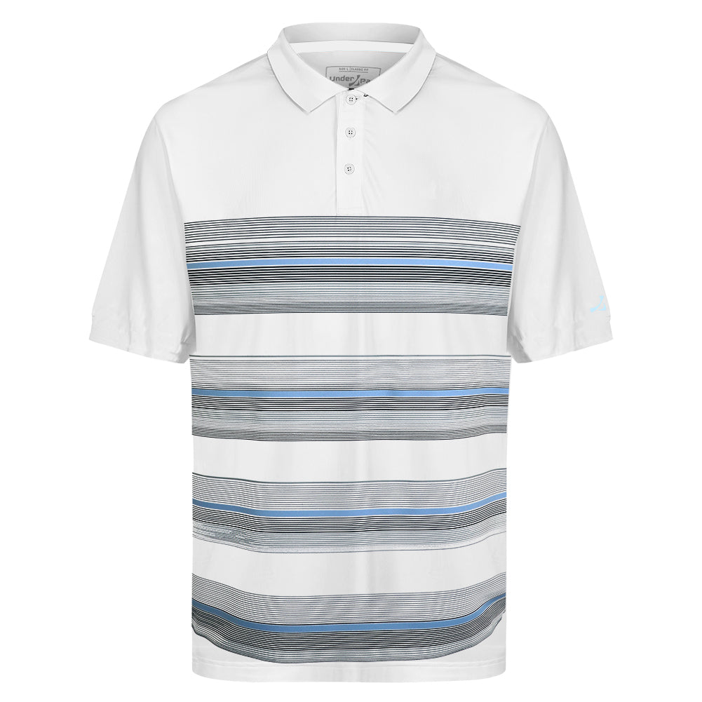 Mens Multi Stripe Polo Shirt