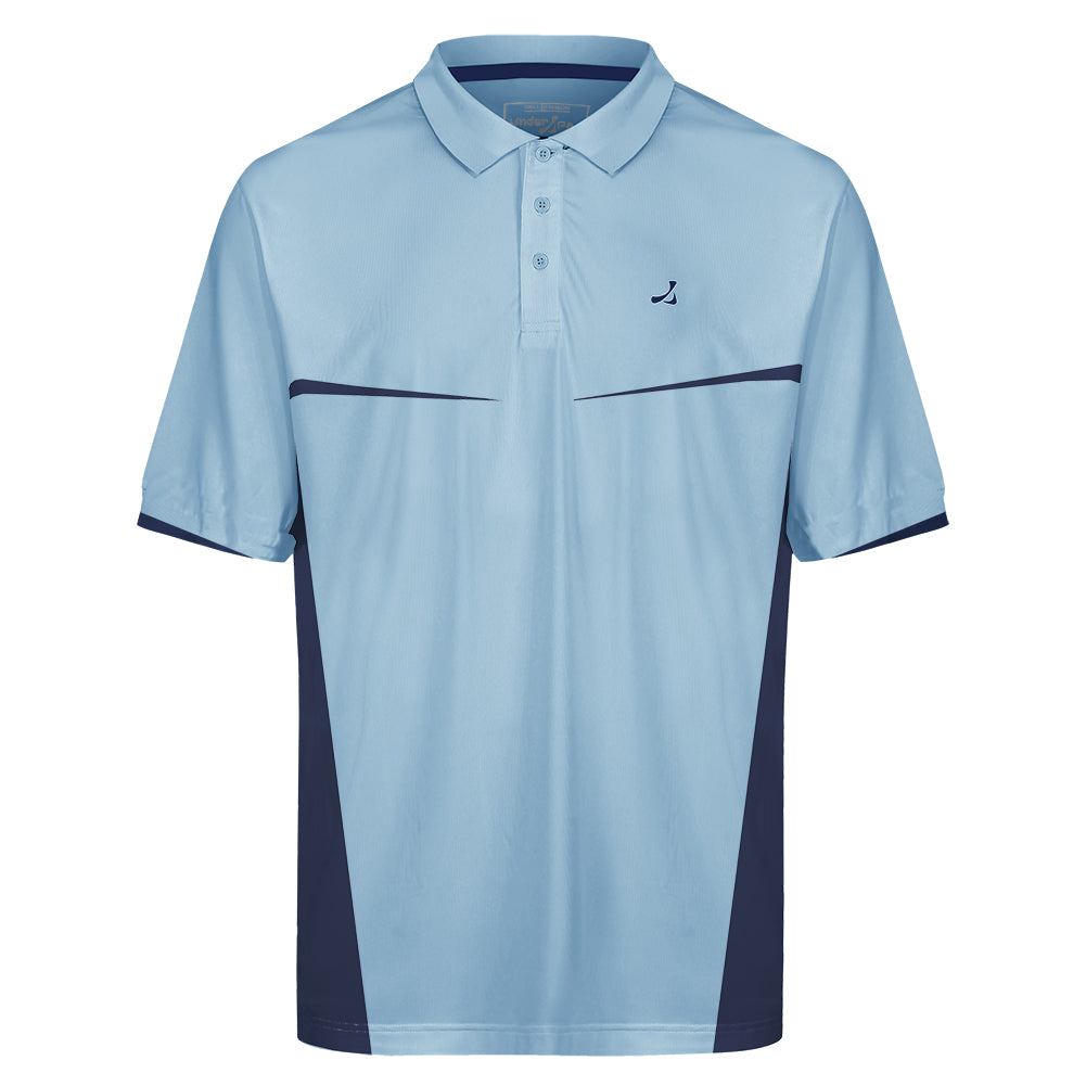 Mens Contrast Panel Polo Shirt - Event Stuff Ltd Owns Putterfingers.com!