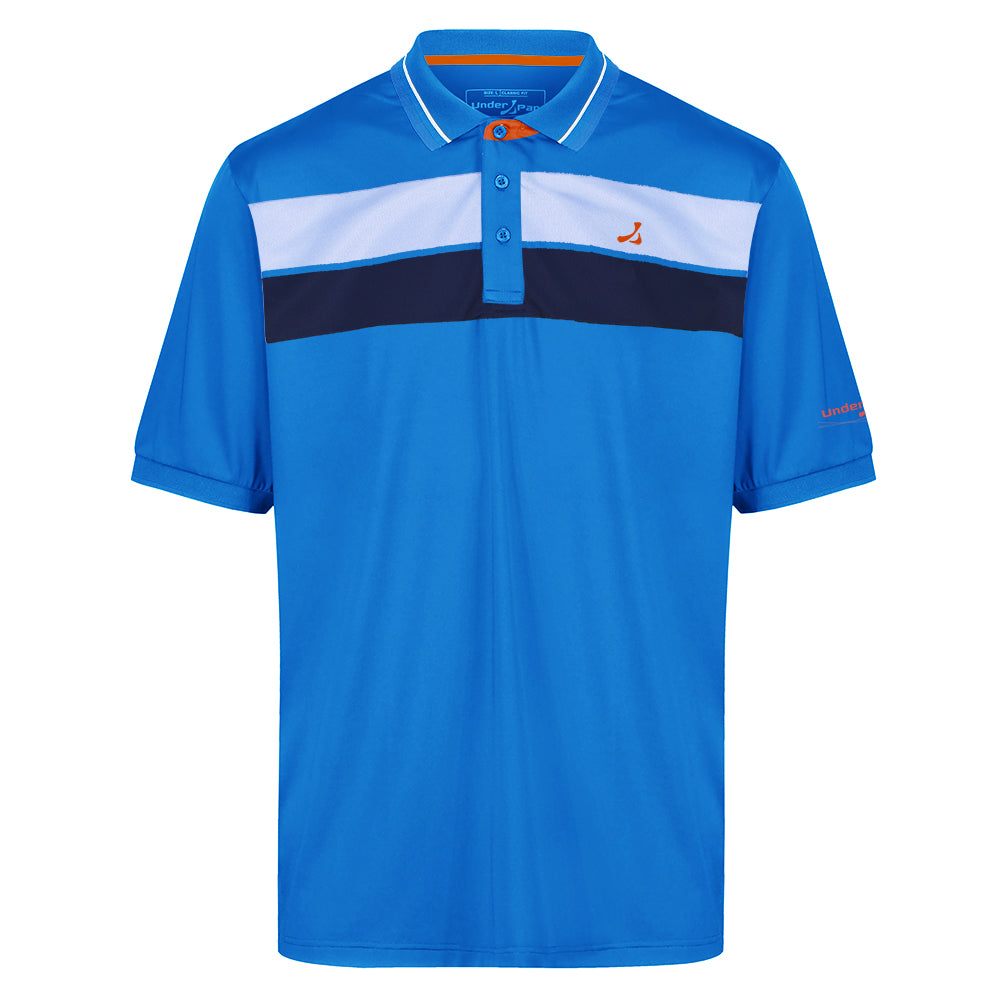 Mens High Stripe Polo Shirt - Putterfingers.com