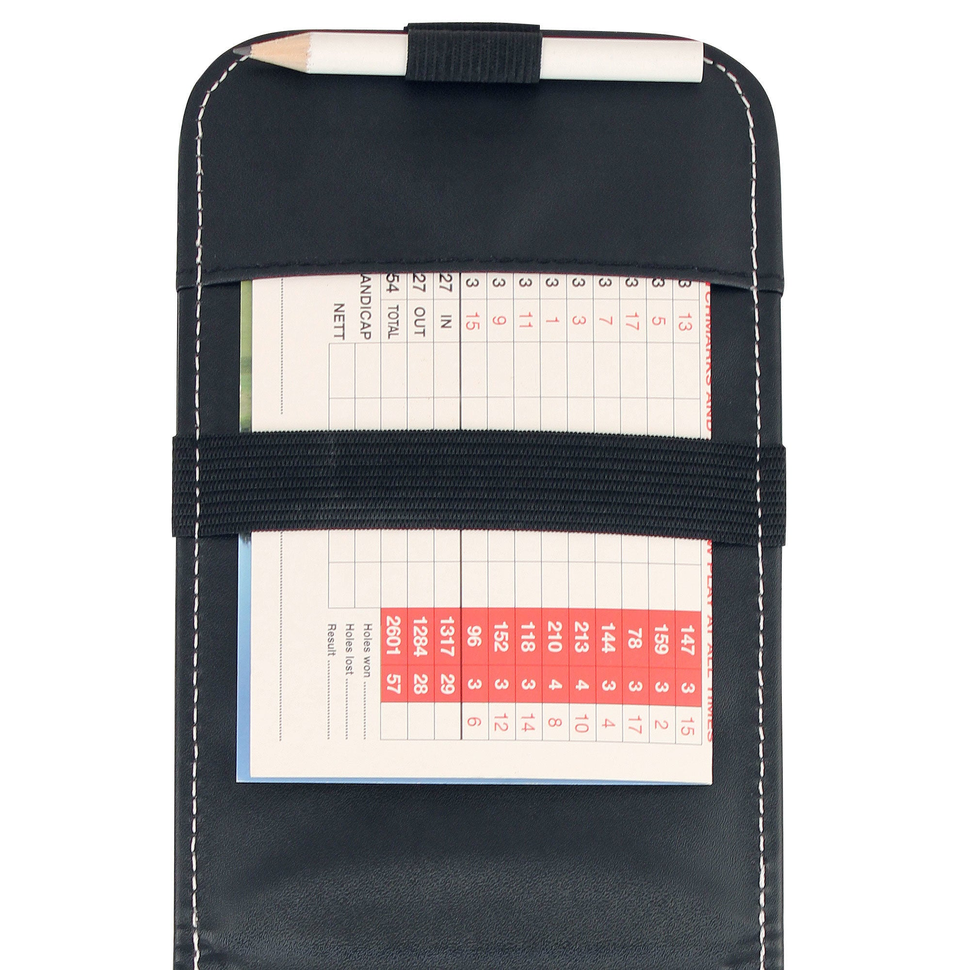 Premium Leatherette Scorecard Holder