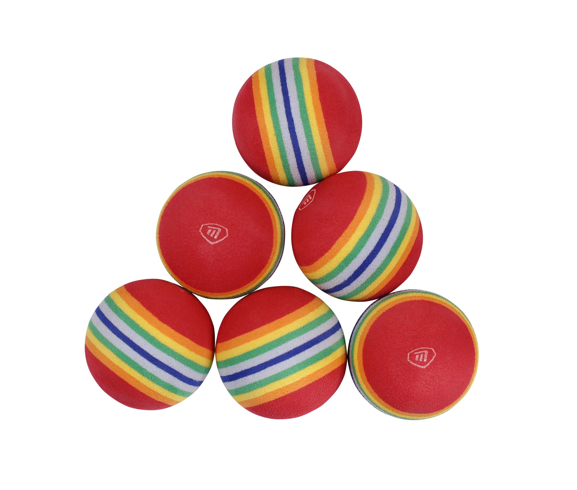Foam Practice Balls pack of 6 - Putterfingers.com