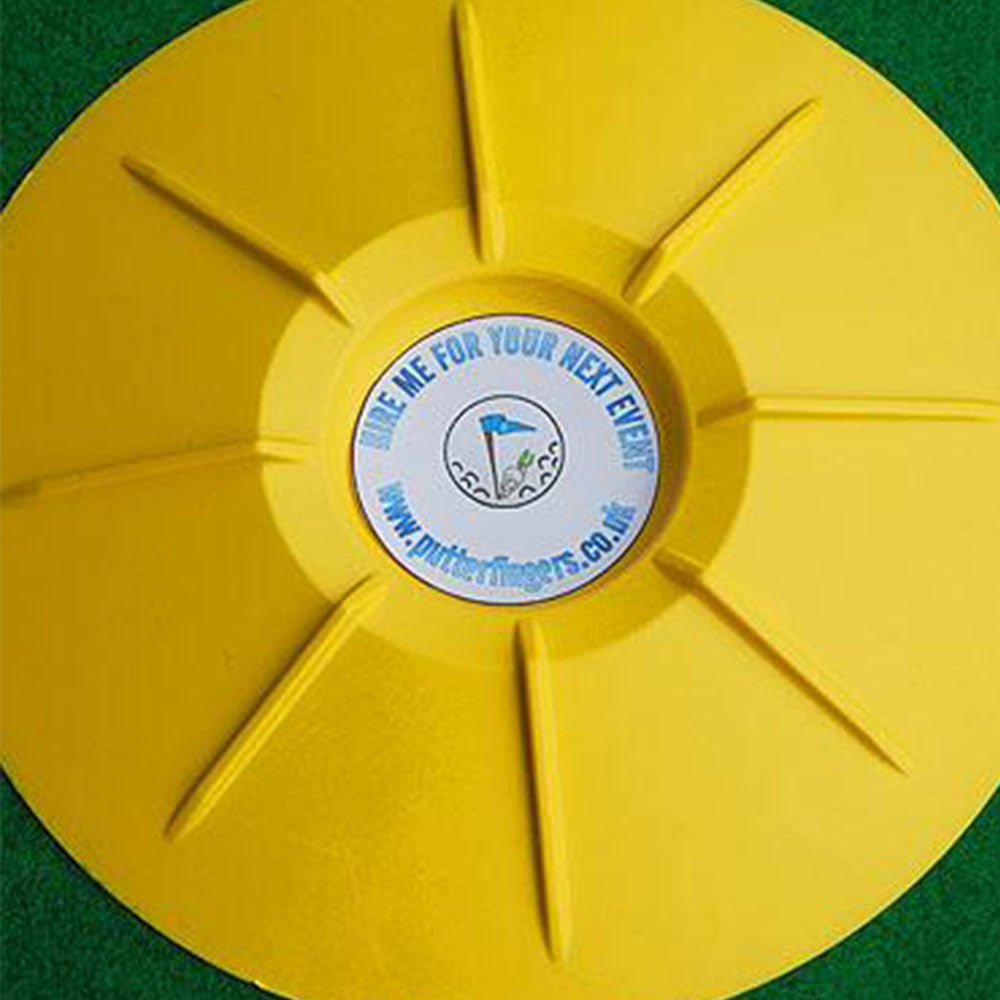 Branded minigolf holes