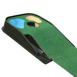 Deluxe hazard putting mat golf and minigolf