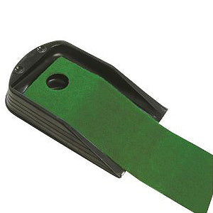 Deluxe return putting mat golf or minigolf