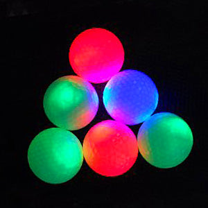 Flashing Golf Balls (Pack of 2) - Event Stuff Ltd Owns Putterfingers.com!