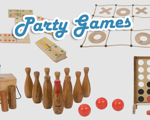 Garden games hire UK