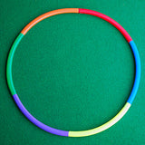 Make a hoop putting set minigolf crazy golf
