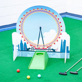 Minigolf obstacles London themed