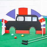 Miniature golf obstacles London theme