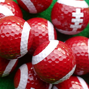 Rugby American football golf balls novelty