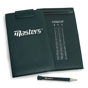 Golf scorecard holder