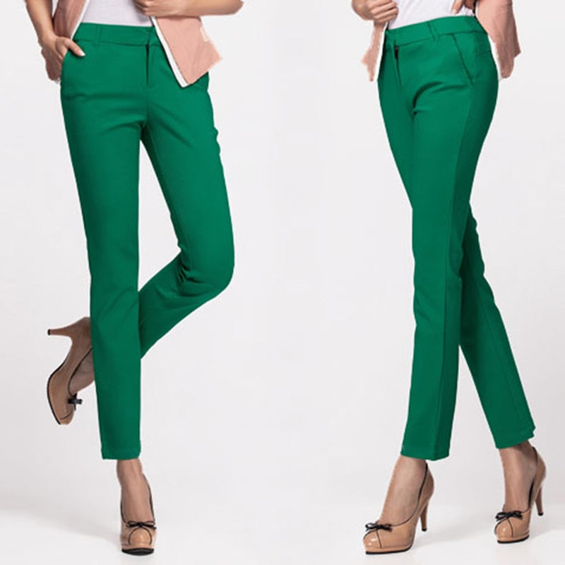 Casual Office Pencil Trousers