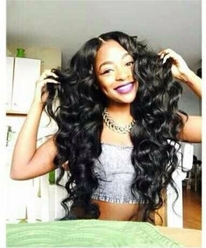 Lace Frontal Wigs 360 Natural Lace Human Hair Wig