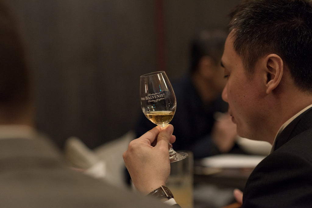 the balvenie whisky private dinner tasting