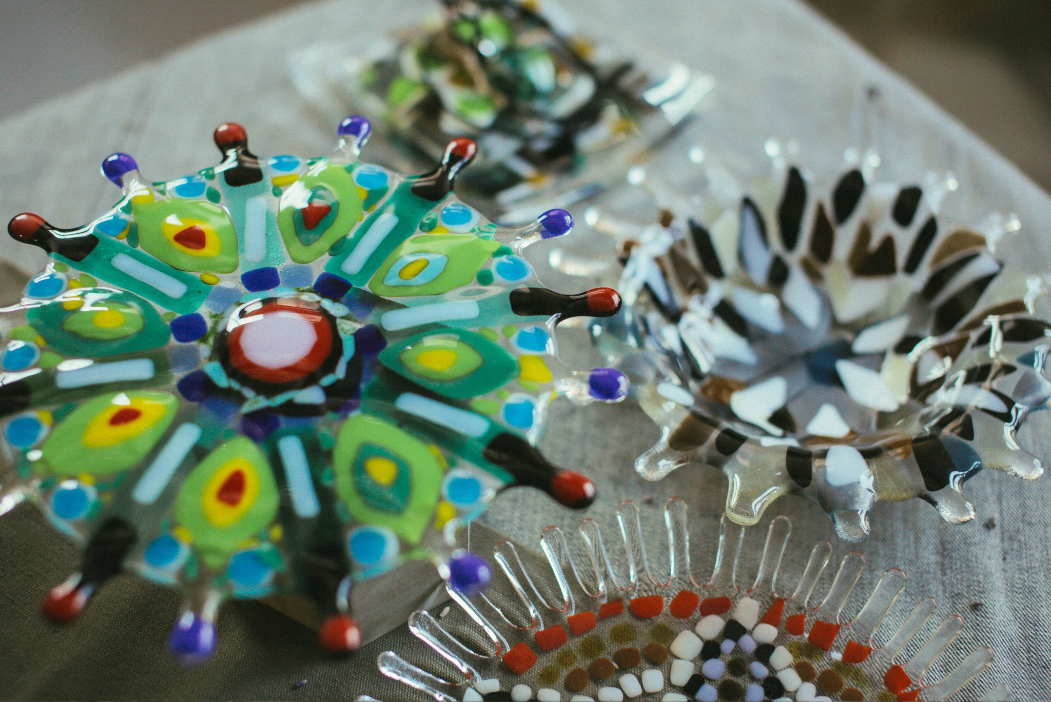 Glass Mandala Bowl / 2 Apr Sun 1400-1700 hrs