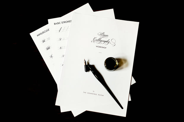 Basic Copperplate Calligraphy / 22 Jun Sat 1000-1300 hrs