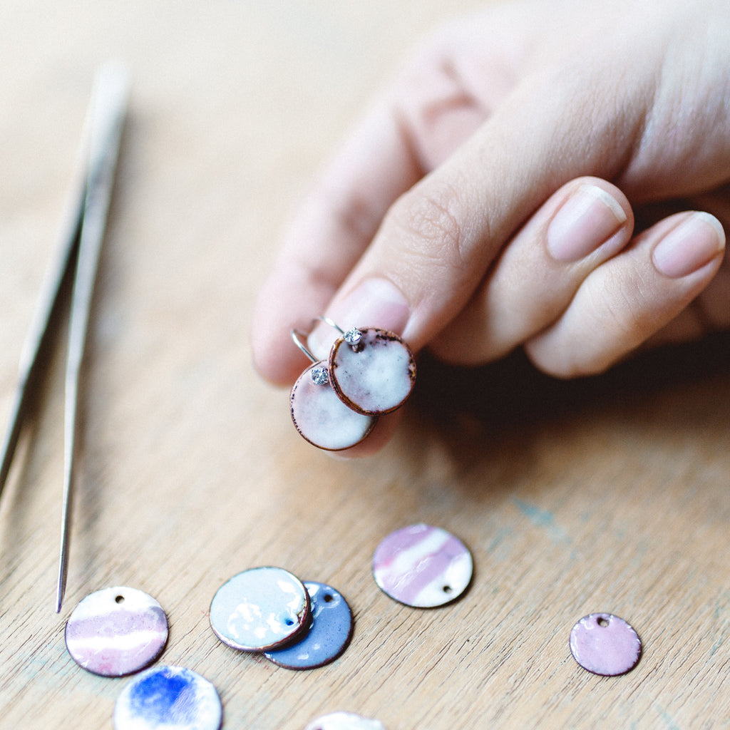 Basic Enamelled Jewellery Workshop / 18 Nov Sat 1300-1530 hrs