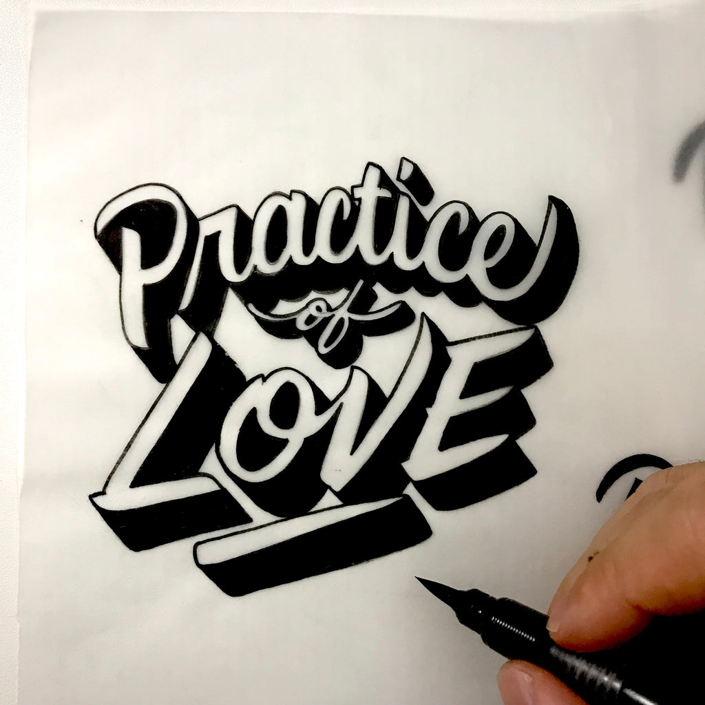 Brush Script Lettering / 30 Sep Sun 1200-1500 hrs