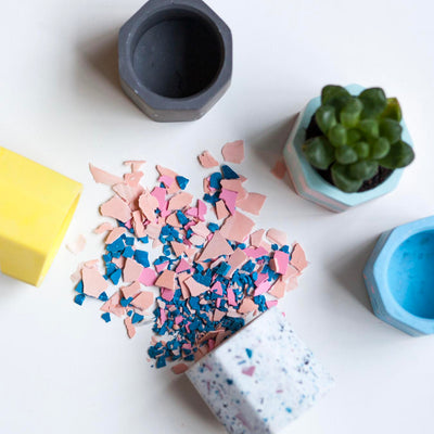 Create a Mini Terrazzo Planter on 14 Dec 2019 / 1100 - 1230