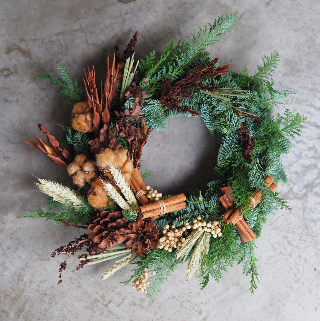 Festive Wreaths / 15 Dec Sat 1100-1230 hrs