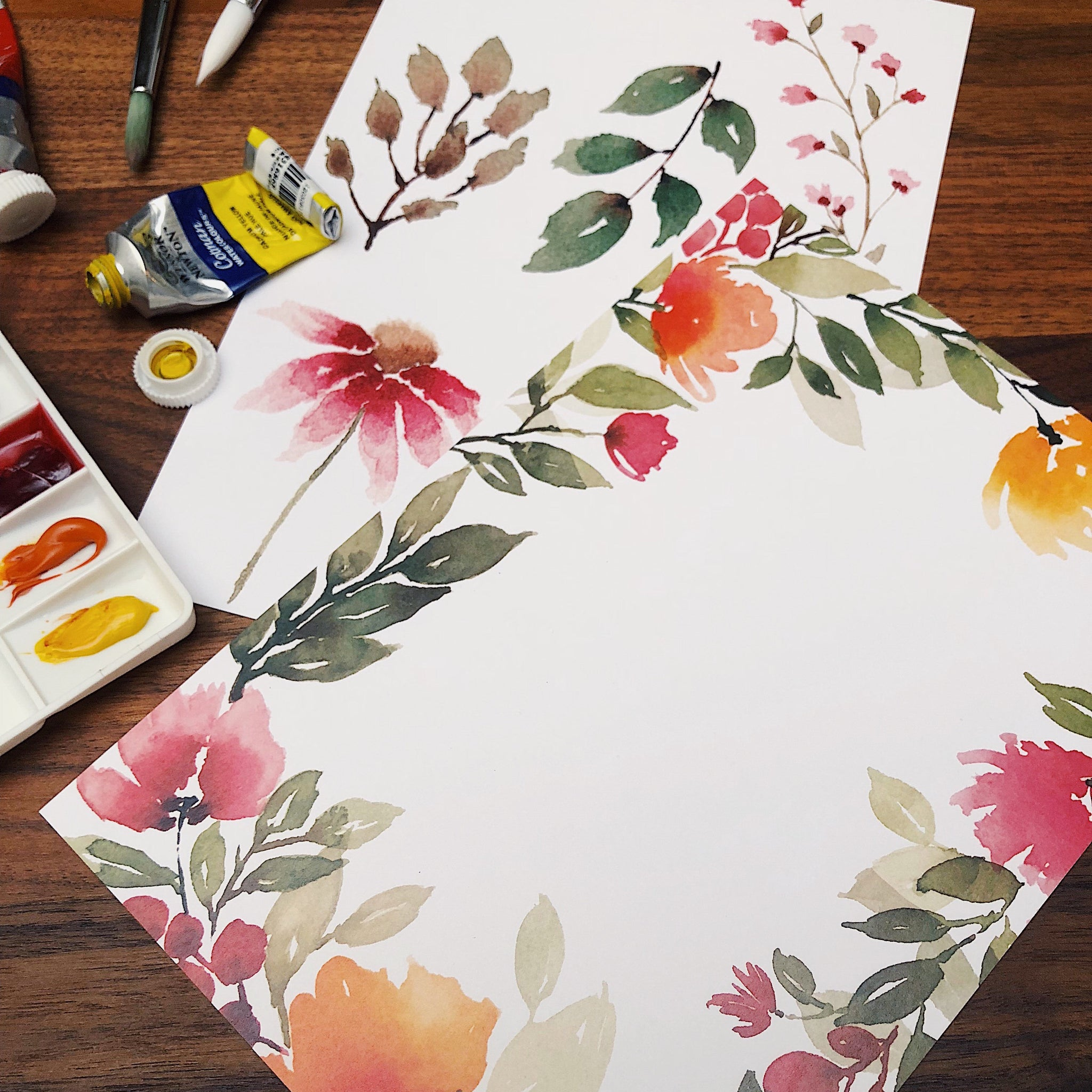 Basic Floral Watercolour / 4 Aug Sat 1300-1600 hrs