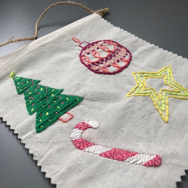 Mini Embroidered Wall Tapestry / 22 Dec Sat 1130-1430 hrs