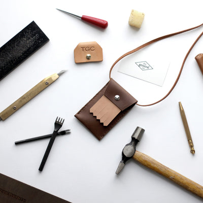 Leathercraft 102 - Intro to Stitching / 3 Nov Sun 1530-1800 hrs