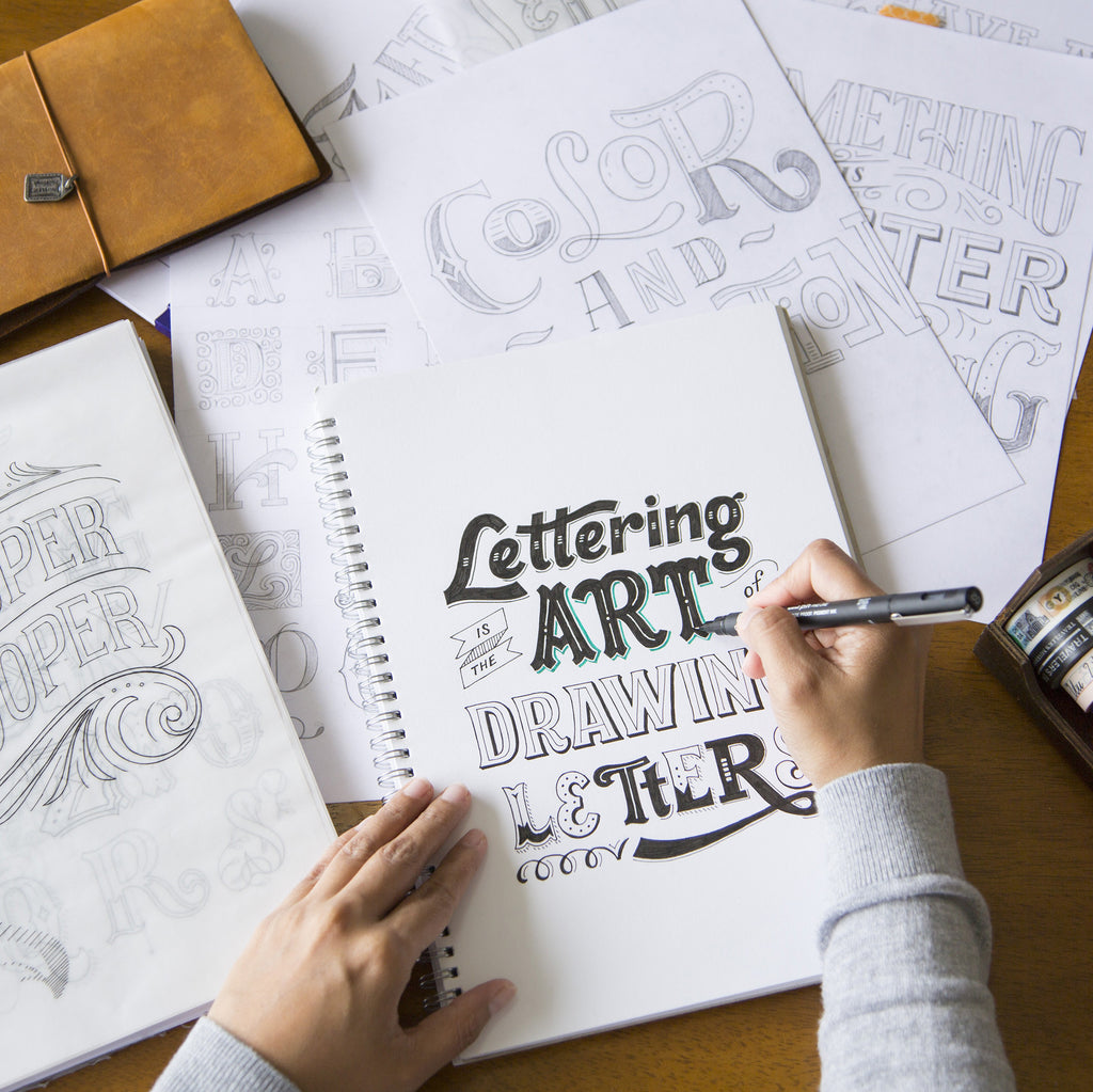 Intro to Handlettering / 26 Aug Sat 1300-1600 hrs