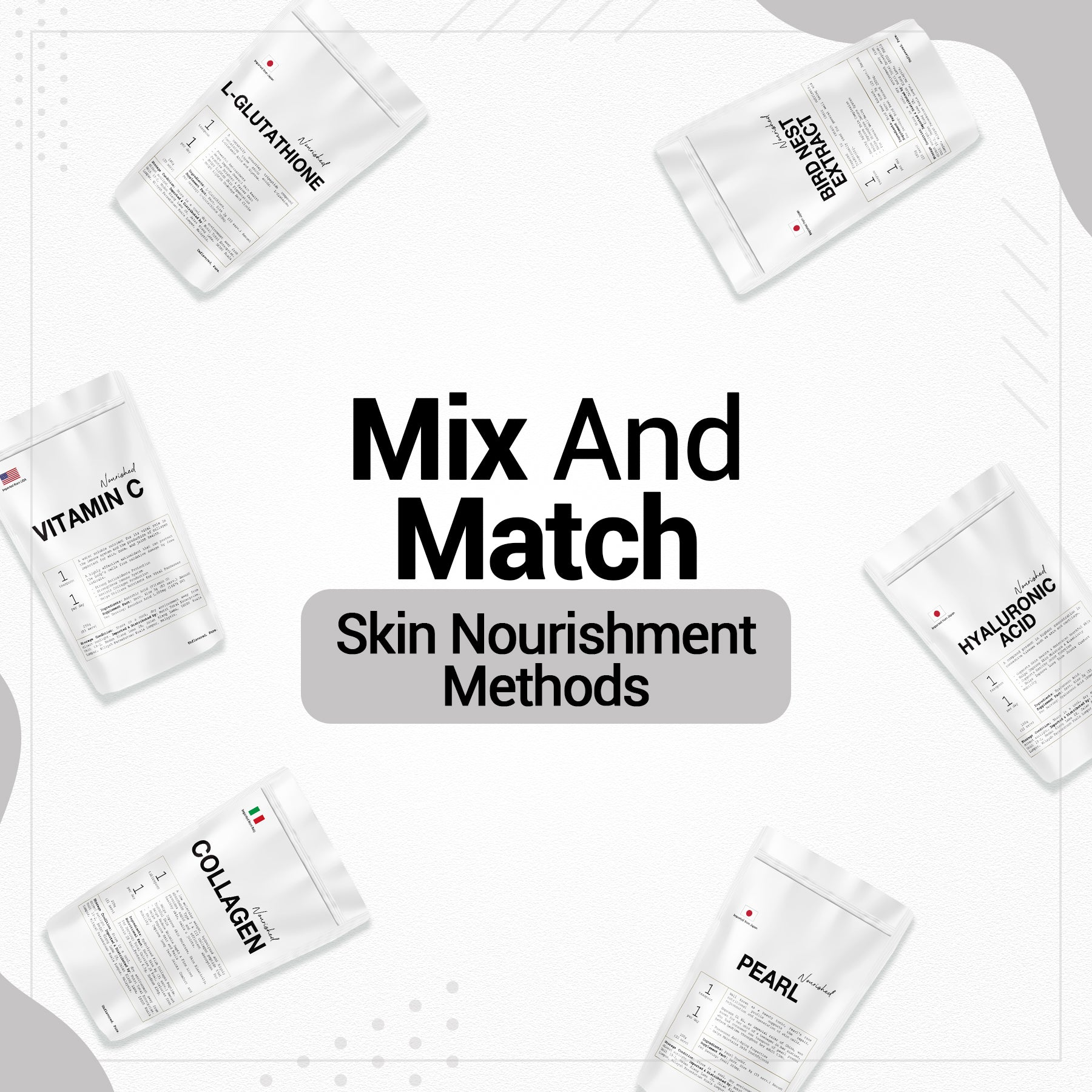 4 Mix And Match Skin Nourishment Methods