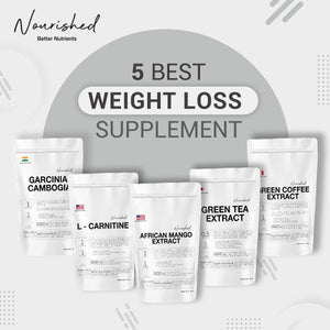 5 Best Weight Management Supplements You Should Know