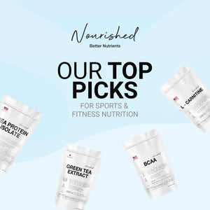 The Top Picks of Nourished's Sports Supplements For Fitness Enthusiasts
