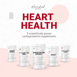 The Matter of Heart: 7 Incredible Supplements For A Healthy Heart