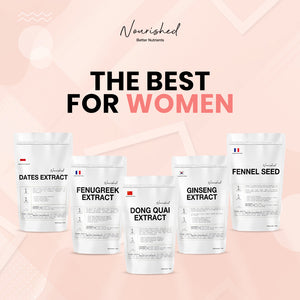 The Best Nourished Ingredients For Women Through The Life Stages