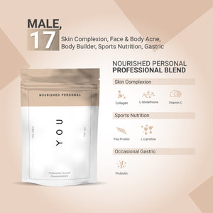 Case Study 6: Male, 17 - Skin Complexion, Sports Nutrition