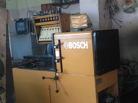 Bosch test bench
