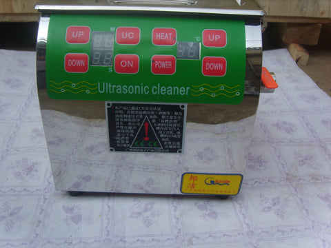 Common rail injector cleaner ultrasonic