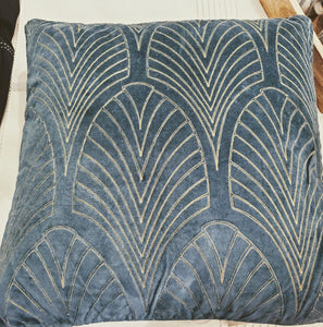 Emerald Art Deco Pillow