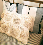 Tri Lines pillow