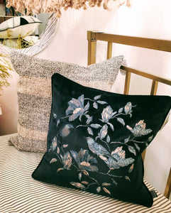Colibri Velvet Cushion Pillow
