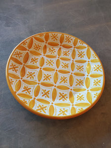 Tunisia Orange Accent Plate