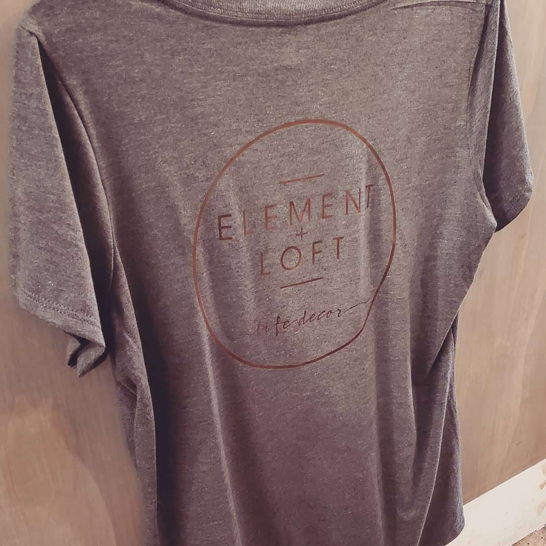 Element + Loft   V Neck T Shirt