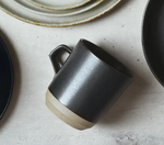Kinto Tall Black Porcelain Mug