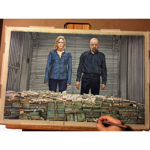 Breaking Bad Top Best Museo Rag Art Print Poster