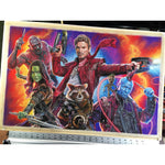 Guardians of the Galaxy Top Best Museo Rag Art Print Poster