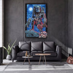 The Predator Jungle Hunter Top Best Rag Giclee Art Print Poster