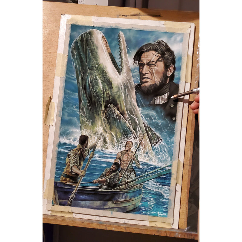 Moby Dick Top Best Museo Rag Art Print Poster