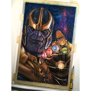 Thanos Avengers Top Best Museo Rag Art Print Poster